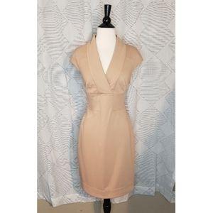 Maggy L ~ Tan Dress ~ Size 10